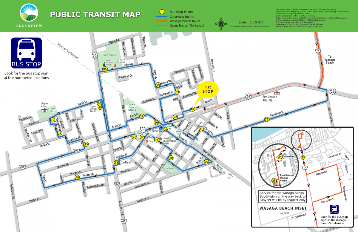 public transit | township of clearview