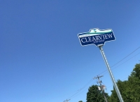Clearview Township Sign